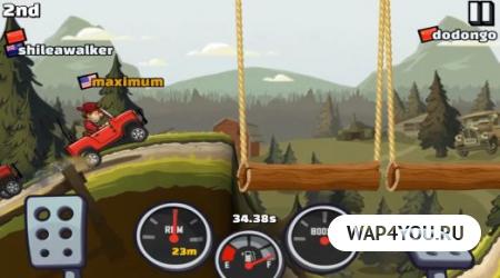 Скриншот игры Hill Climb Racing 2