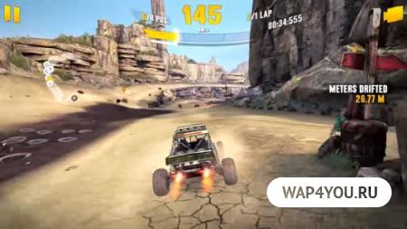 Игра Asphalt XTreme на Android