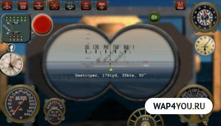 Silent Depth Submarine Sim на Андроид