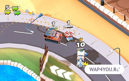 Crash of Cars на Android