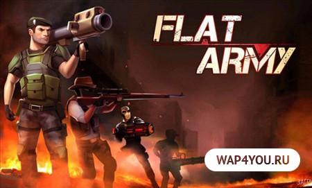 Flat Army игра