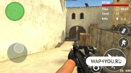 Counter Terrorist-SWAT Strike на Андроид