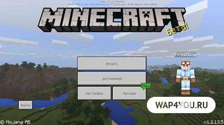 Скриншот Minecraft Pocket Edition