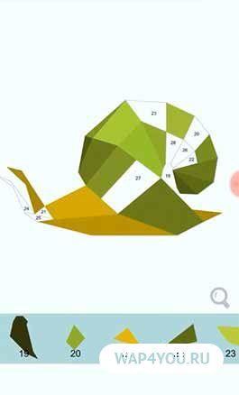 Скриншот Цвет по количеству - многоугольник