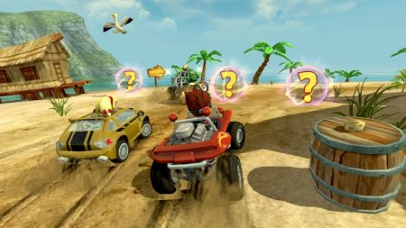 Скриншот Beach Buggy Racing