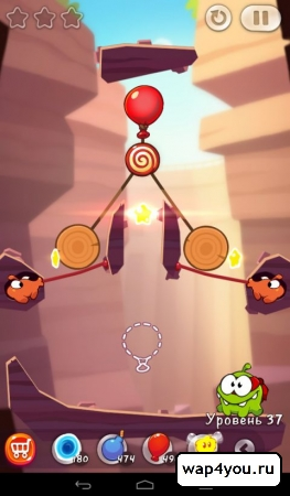 Скриншот Cut The Rope 2 на Андроид
