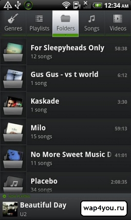 Скриншот PlayerPro Music Player