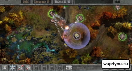Скриншот Defense zone 2 HD для Android
