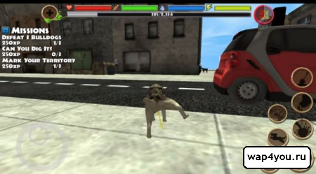 Скриншот Stray Dog Simulator на андроид