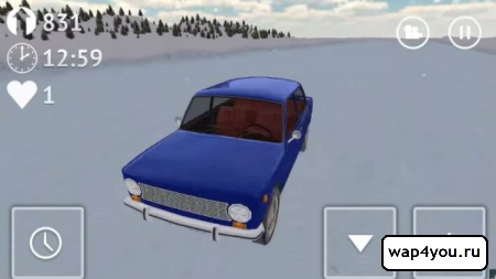 Скриншот Russian Winter Traffic Racer