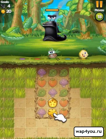 Скриншот Best Fiends для Андроид