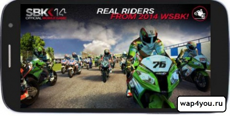 Обложка SBK14 Official Mobile Game