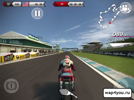 Скриншот SBK14 Official Mobile Game для Android