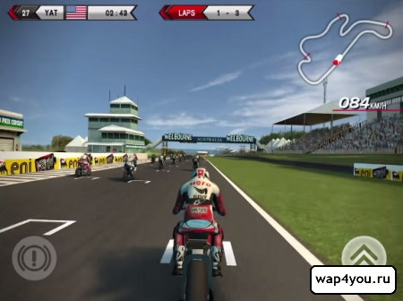 Скриншот SBK14 Official Mobile Game