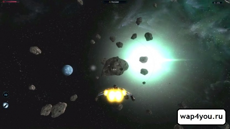 Скриншот Galaxy on Fire 2 HD на Android