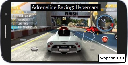 Обложка Adrenaline Racing: Hypercars