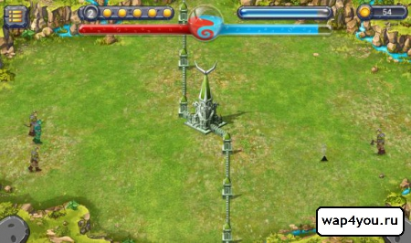 Скриншот игры The Battle for Tower