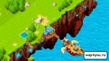 Скриншот Cloud Raiders для android