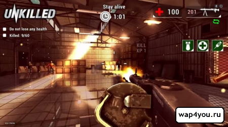 Скриншот UNKILLED для android
