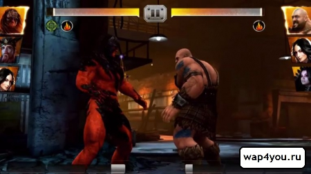 Скриншот WWE Immortals для Android