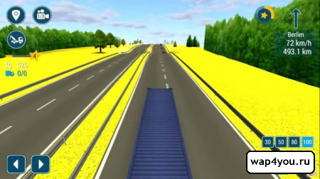 Скриншот TruckSimulation 16 для Android