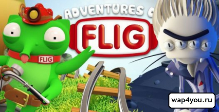 Обложка Adventures of Flig
