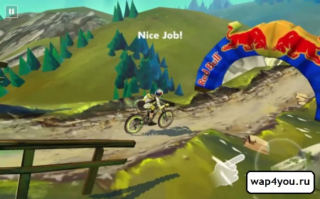 Скриншот Bike Unchained для Android