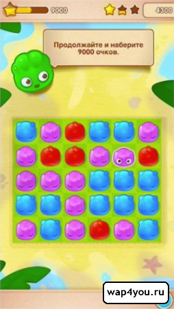 Скриншот Jelly Splash для Android
