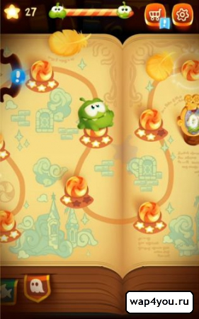 Скриншот Cut the Rope: Magic для Android