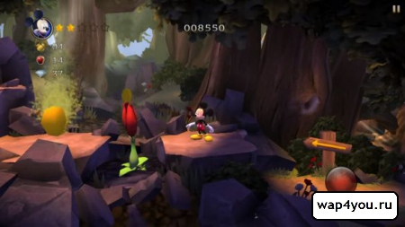 Скриншот Castle of Illusion для Android