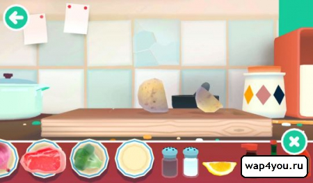 Скриншот Toca Kitchen 2 на Андроид
