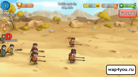 Скриншот Spartania: The Spartan War для Android