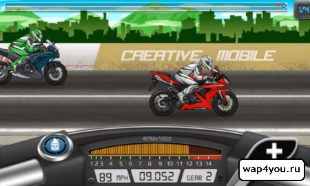 Drag Racing: Bike Edition на Андроид