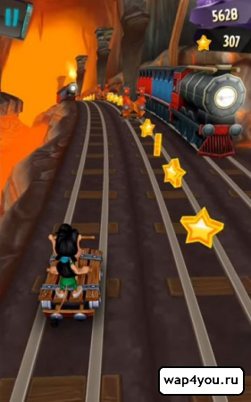 Скриншот Hugo Troll Race 2 на Андроид