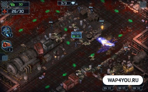 Alien Shooter полная версия - mods-android.com