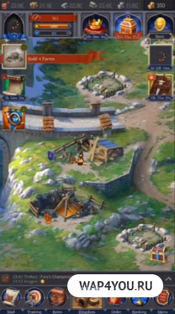 Throne: Kingdom at War на Android