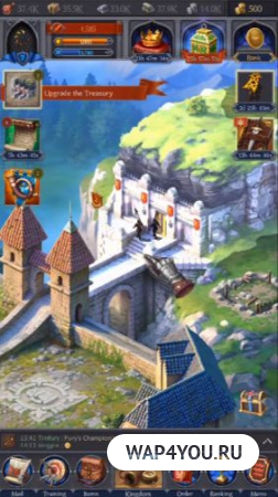 Игра Throne: Kingdom at War на Android