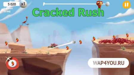 Cracked Rush для Android