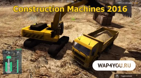 Construction Machines 2016 на Android