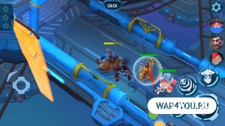 Planet of Heroes на Android