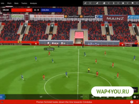 Football Manager Touch 2017 на Андроид