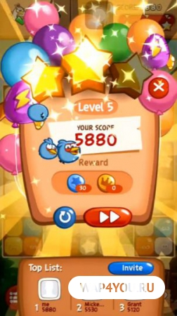 Angry Birds Blast для Android